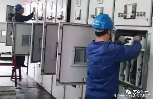 配电柜安装过程